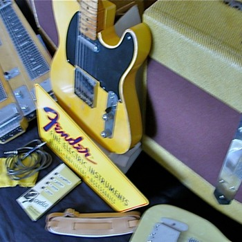 Fender 1953 Guitar & Amplifier Collection - Guitars
