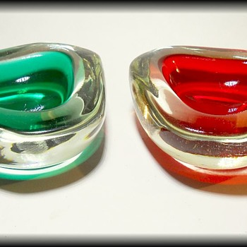 Two Murano Art Glass Bowls  - Art Glass