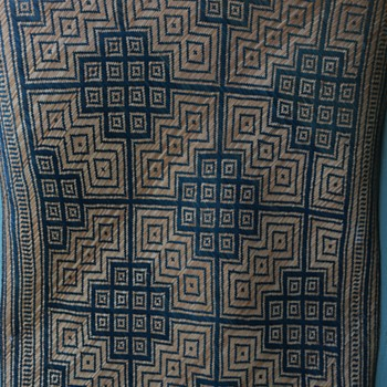 Woven Mat - South Pacific? - Rugs and Textiles