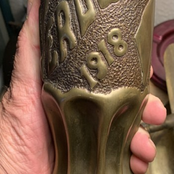 WW1 Trench art - Military and Wartime