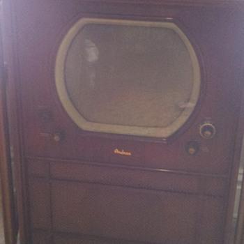 1950 Andrea television set - Radios