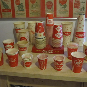 Updated Coca Cola Cup Collection - Coca-Cola