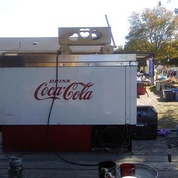 Beverage Air Vintage Coca Cola Cooler