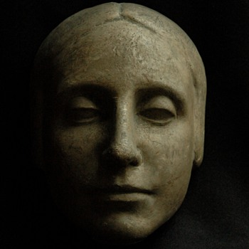 "french art deco period  woman's head sculpture "" l'inconnue de la seine"" - Fine Art"
