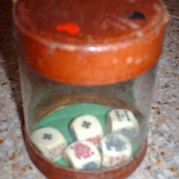 glass pocker shaker looking for info - Games
