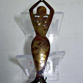 Brass Mermaid Lure - Fishing