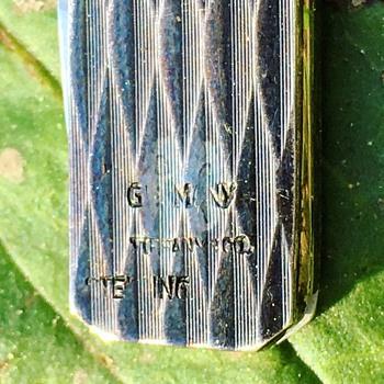 Vintage Tiffany & Co Sterling Silver Pocket Knife  - Silver