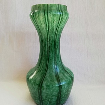 Welz Vertical Lines Vases - Art Glass
