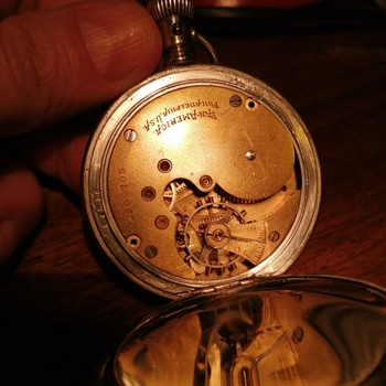 Pls help with manufacturing year of this Panamerica philadelphia? - Pocket Watches