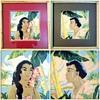 Hawaiiana Art Deco 1950's by Artist Locke