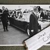 Vintage Original JFK Kennedy Presidential Limo Leaving Airport Photo