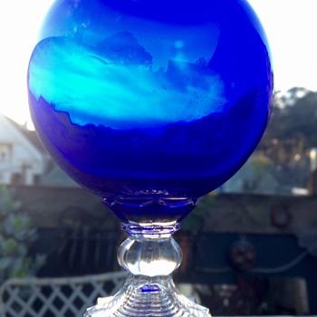 Rare Huntington Tumbler Company Ivy Ball Vase