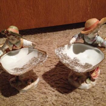 Boy and Girl figurines