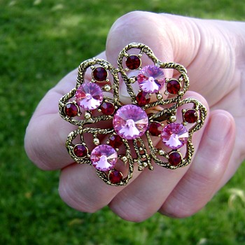 Weiss Brooch - Costume Jewelry