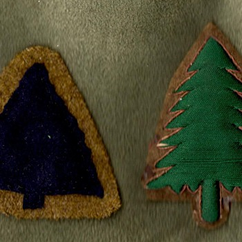 WWI Era US 91st Division Patches