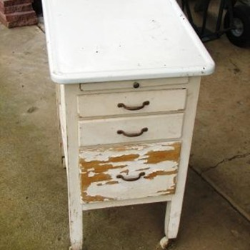 old kitchen storage? - Furniture