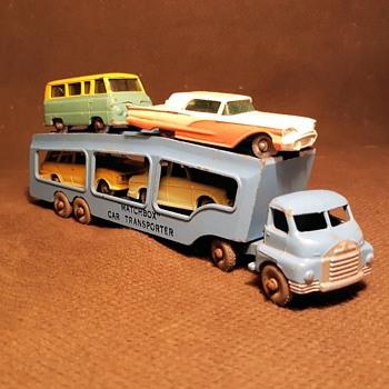 Major Motor Mover Matchbox Monday Accessory Pack  A-2 Matchbox Car Transporter  1957-1961 - Model Cars