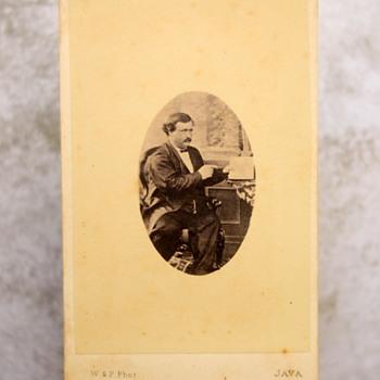 Rueben Cousins C, 1860 Carte De Visite