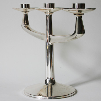 bruckmann & söhne candelabra unknown designer - Art Deco