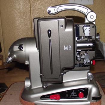 Bolex M8 8mm Movie Projector 1957 - Cameras