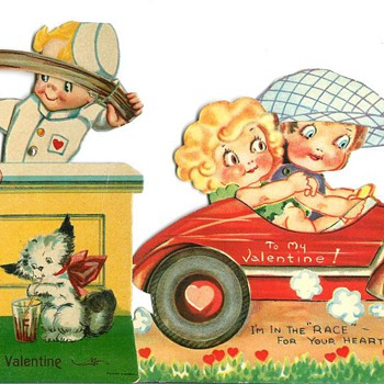 Vintage Valentines  - Cards