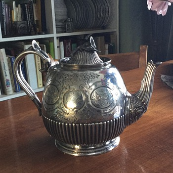 James Dixion & Sons stunning teapot - Silver