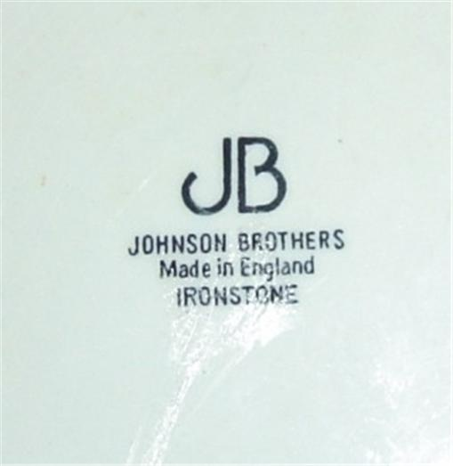 Johnson Brothers Regency China - Marks | Collectors Weekly
