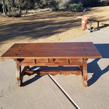 primitive coffee Table? - Furniture
