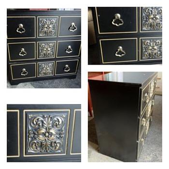 HELP ID Mid Century Black Dresser - DRAPER ? - Furniture