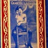 POSTCARD TOBACCIANA,CATEGORY-- DARING WOMAN HIKES SKIRT & SMOKES! (1911) WILD FOR THE TIMES!