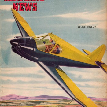 "1946 - ""Model Airplane News"" Magazine (March) - Paper"