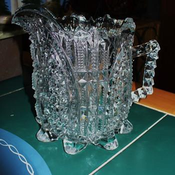 Large EAPG Creamer - Glassware