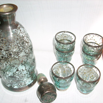 Liquer decanter set? - Glassware