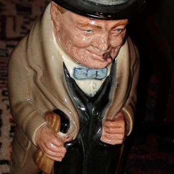 Winston Churchill Toby Mug Royal Doulton - China and Dinnerware