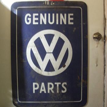 Unknown Volkswagen sign - Signs