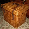 Classic Abercrombie & Fitch Wicker Picnic Basket