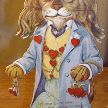 Early Valentine's Day cards. 1900's-1920's. - Cards