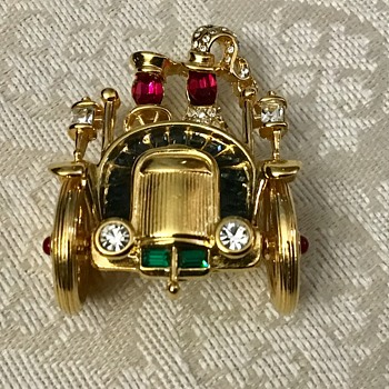 Trifari TM car - Costume Jewelry
