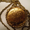 Liberty Coin Arenda, 17 Jewels Pendant Necklace Watch