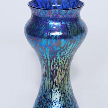 Loetz in Blue - Art Glass