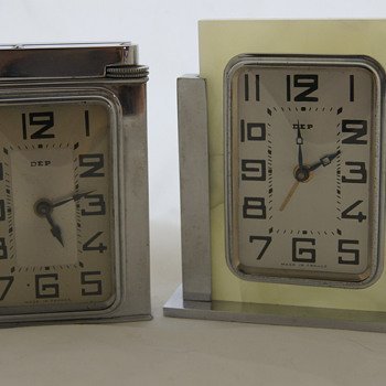 DEP table lighter clock & desk clock - Clocks