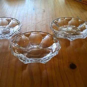 When At Wit's End, Look In The Thrift Shop.... - Glassware