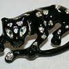 M. V. Vellano panther brooch