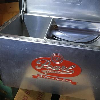 Pearl Beer Cooler - Advertising