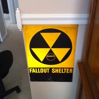 Nuclear Fall Out Sign