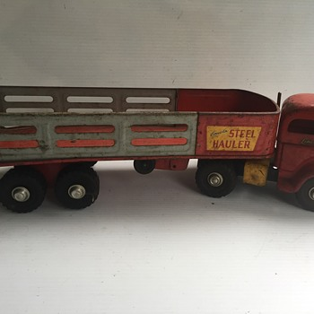 Lincoln Toys Steel Hauler - Model Cars