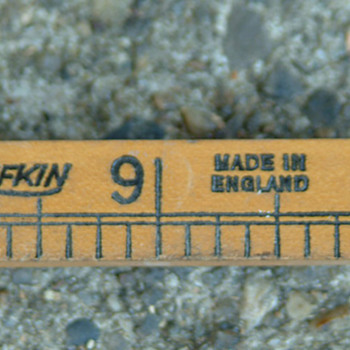 Lufkin folding ruler no 651,boxwood made in England 1920s - Tools and Hardware