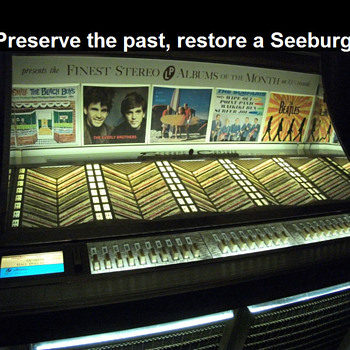 Seeburg Jukebox LPC1 - Coin Operated