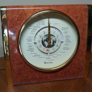 Bulova Keswick B2522 World Time Clock - Clocks