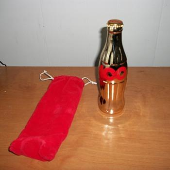 Coca-Cola 100 Celebration glass bottle
